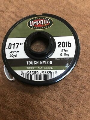 12 Lot of Umpqua 0X 14lb Tippet Spools