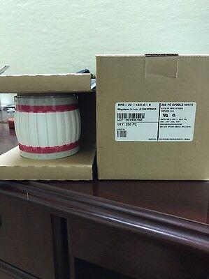 Raychem Label Shrink Wrap White .25x2 250pc Spool