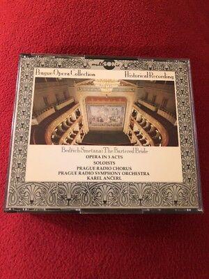 - Prague Opera Smetana The Bartered Bride (2CD, 1993, Czech) Rare