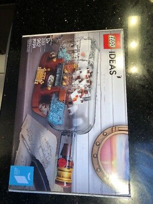 Lego Ideas Ship In A Bottle 21313 Brand New Factory Sealed