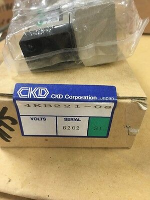 Ckd 4kb221-08 Air Operated Valve New