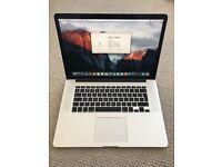 MacBook Pro i7 16GB Warranty 10/2019