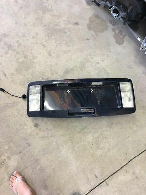 2005  Cadillac SRX tailgate trunk lid trim tail light lamp