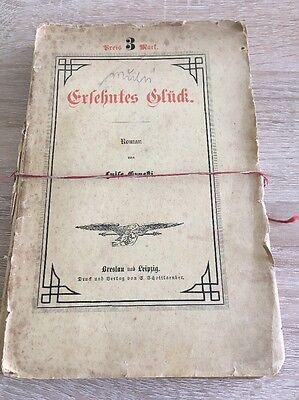 Ersehntes Glück, roman von Luise Ernesti ,1883