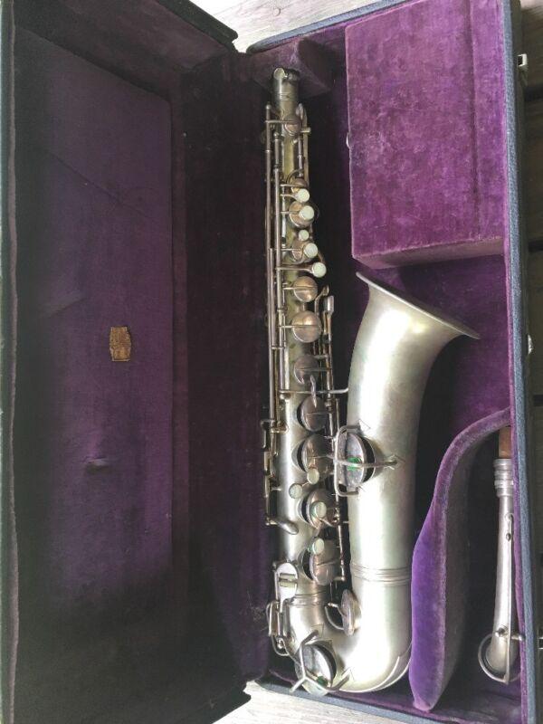 1921 Silver Saxophone Conn C L #78458