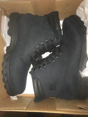 a2227ddbadc0d NIB Sorel Men s Portzman Lace Boot - Black - size 10.5 - retail  160