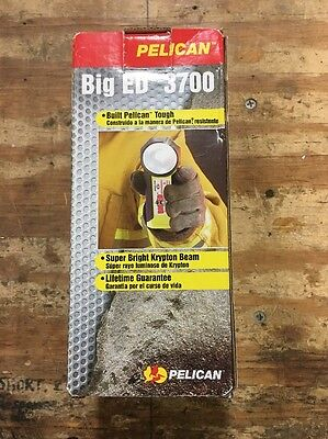 Pelican Big Ed 3700 Flashlight - NOS