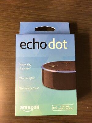 Brand New Amazon Echo Dot 2Nd Generation W  Alexa Voice Media Device Black