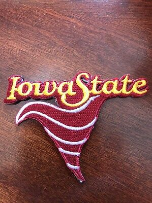Isu Iowa State Cyclones Football Vintage Embroidered Iron On Patch 2 5  X 3