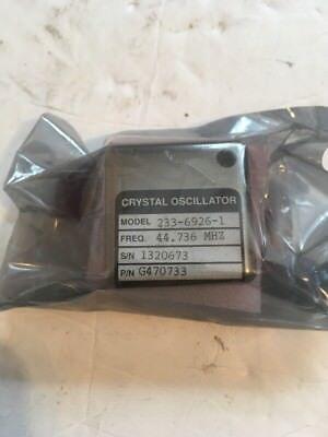 Vectron Crystal Oscillator Model 233-6926-1 Freq 44.736 Mhz Cellar