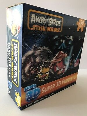 Angry Birds Star Wars Super 3D Puzzle 150 Pieces, New Sealed !