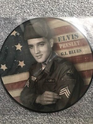 Elvis Presley 'GI Blues' LP Vinyl - 2018 Ltd Edition Picture Disc - BRAND NEW