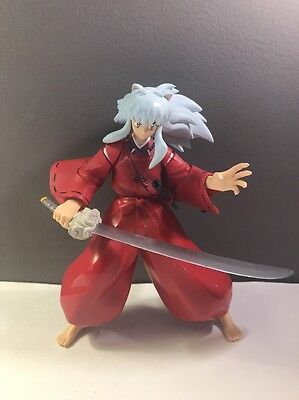 2004 INUYASHA Action Figure W/Sword Loose by Toynami