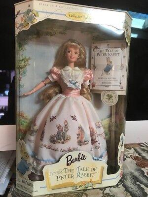 Barbie The Tale Of Peter Rabbit 1997 Keepsake Treasures Collector Ed.  NRFB. MWM