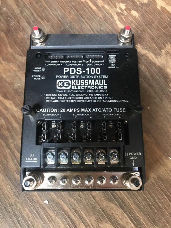 Kussmaul PDS-100 Power Distribution System 390-5711-0 Rev 000 NEW