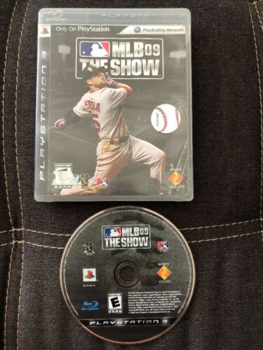 MLB 09 - The Show - 2009 - Major League Baseball -- PS3