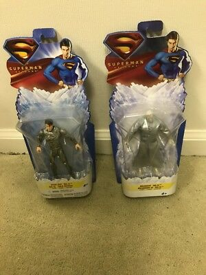 Superman Returns 2006 TRU Excl.figures MOC HOLOGRAM JOR-EL SPACE SUIT - Superman Returns Suit