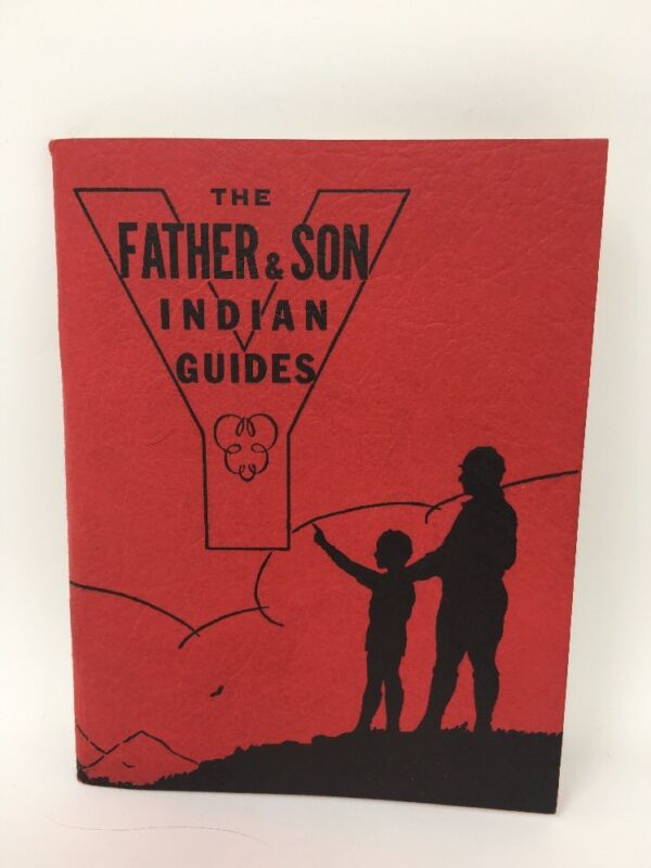 1942 The Father & Son Indian Guides YMCA Booklet Native Americana