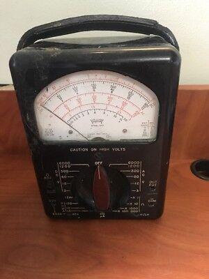 Triplett Model 630a Volt Ohm Mil-ammeter F