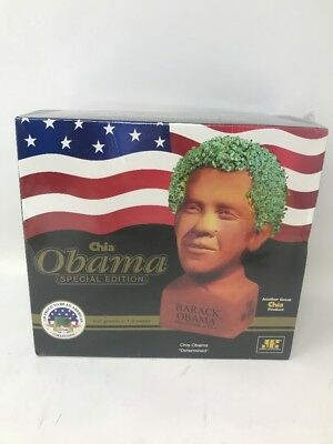 Obama Chia Pet Special Edition New Sealed