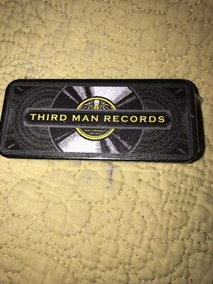 Third Man Records Jack White Metal Tin Sealed With 6 Guitar Picks Nashville for sale  Shipping to Canada