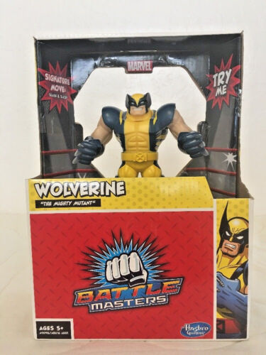 Hasbro Marvel Battle Masters WOLVERINE Action Figure Moving With Controller