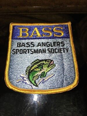 BASS ANGLERS SPORTSMAN SOCIETY FISHING PATCH
