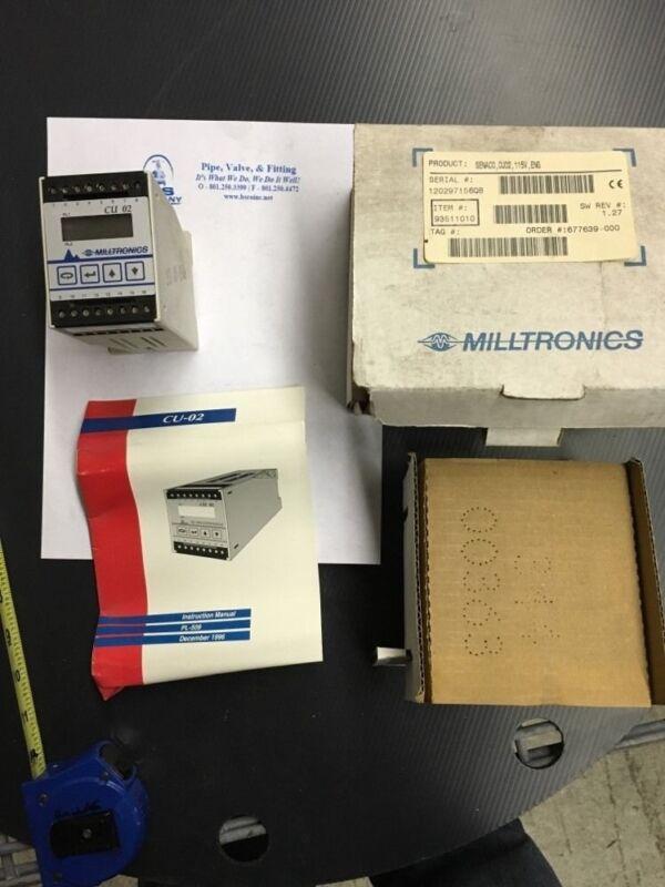 Milltronics Senaco Control Unit CU02 115v