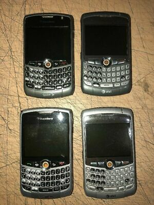 MIXED LOT OF 4 BLACKBERRY CURVE 8330/8310/8300 SPRINT VERIZON ATT -