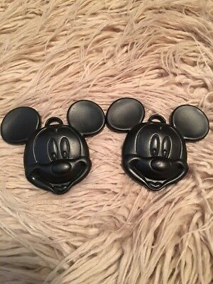 Mickey Mouse Balloon Weights for Foil or Latex Balloons Black Color Set of 2](Black Balloon Weights)