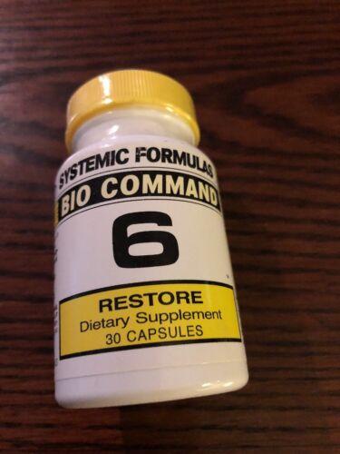Systemic Formulas Bio Command 6 – Restore 30 Capsules