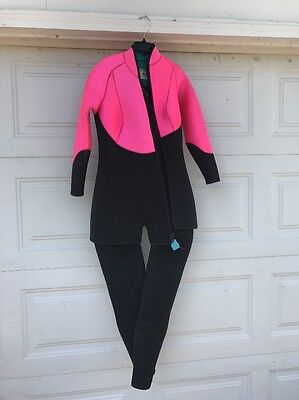 12e5dda126 Two-Piece Harvey s XL Woman s Neoprene Wetsuit Pink   Black