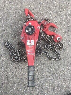 Coffing 3 Ton Come Along Chain Hoist Lsb-b