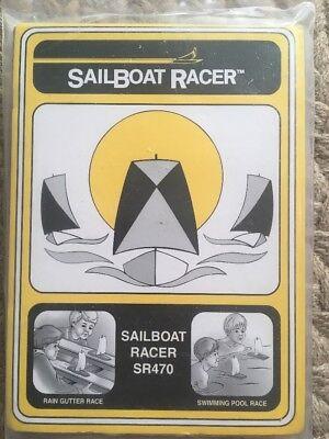 Pinecar WOOD SailBoat Racer KIT -BSA Cub Scout Pinewood Derby Raingutter Regatta
