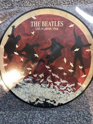 THE BEATLES 'LIVE IN JAPAN 1966 NEW LTD EDT VINYL 2018 LP - PICTURE DISC