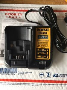 Dewalt DCB107 Lithium Ion Battery Charger 12V / 20V New replaces DCB100 DCB101
