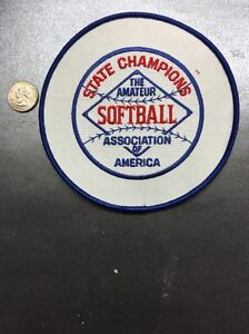 The amateur softball association of america
