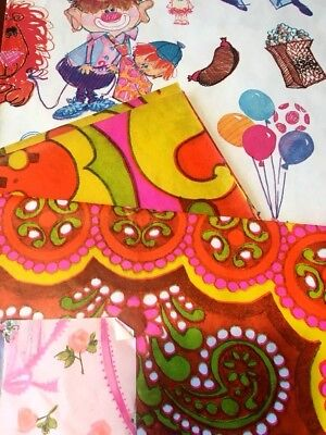 Lot of Vintage Wrapping Paper, Baby, Wedding, Shower, More, All in a Groovy Box! - Baby Shower Wrapping Paper