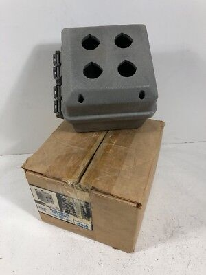 New Industrex J665p Circuit Safe Non-metallic 4-button Pushbutton Enclosure