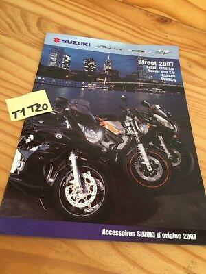 Suzuki 2007 Accesorio Bandit 650 1200 GSR600 Sv 650 Catálogo