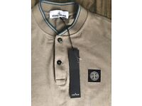 Mens Stone Island Polo Large 100% Authentic