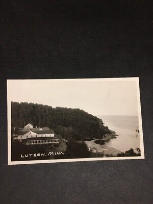 ZA959 Real Photo Postcard Antique Lutsen, Minneasota