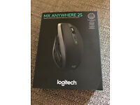 Logitech MX Anywhere 2S Graphite Mouse