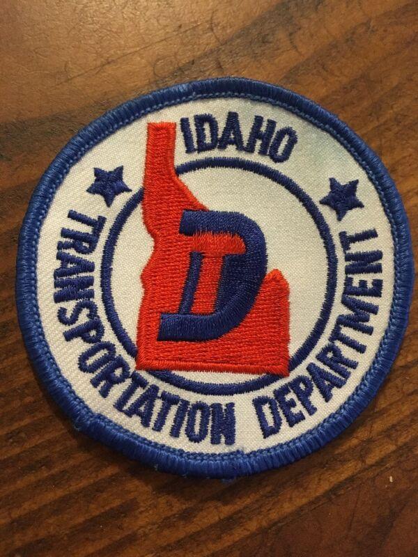 Idaho Transportation Department ITD Sew-On Patch Hat Uniform