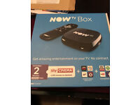 NOW TV BOX BRAND NEW NO PASS £15.00 ono