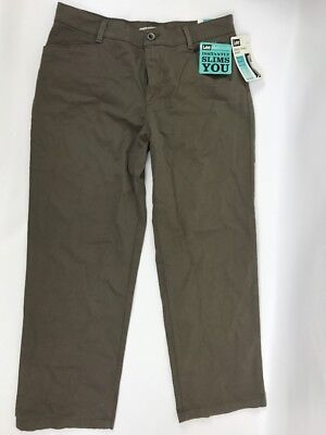 Plain Front Hose (Lee Plain Front Pants Relaxed Fit Stretch Straight Leg Womens 14 Short At Waist)