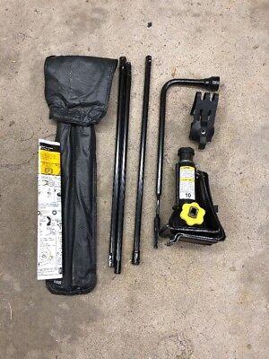99-14 SILVERADO TAHOE SUBURBAN Spare Tire Emergency Jack Kit with Tools Set OEM