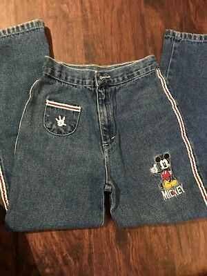 Kids Unisex Mickey Jeans, Size 8