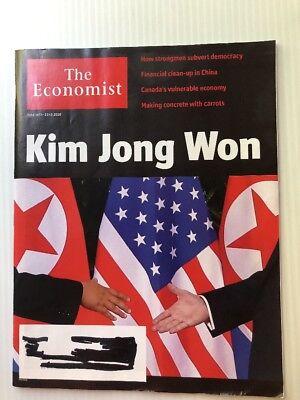 THE ECONOMIST MAGAZINE June 16-22 2018 - Donald Trump Kim Kong Won North Korea