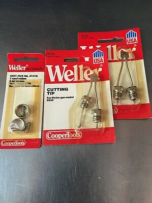 Weller 2 6130 Soldering Gun Tip For Weller Model D550 2collars 47414